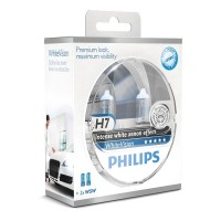 Philips WhiteVision H7 + W5W