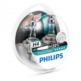 Philips Xtreme Vision H4 +130%